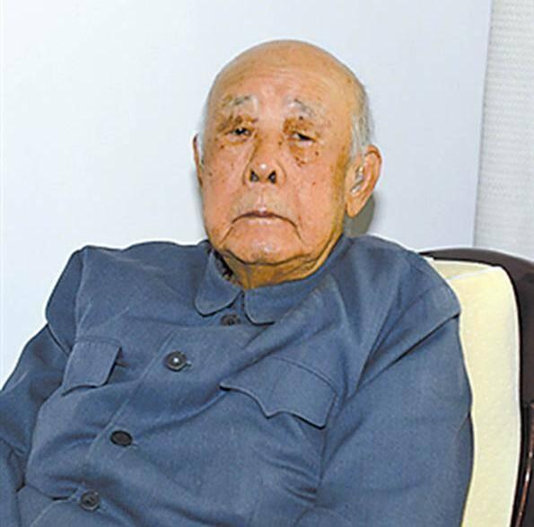103岁老红军、开国少将廖鼎琳逝世(图)