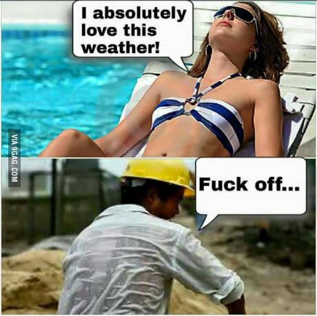 我真的好喜欢这天气,滚你妹的!