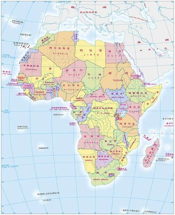 那么,非洲的人口分布情况呢?-唐驳虎 用铁路解锁非洲,是中国战略