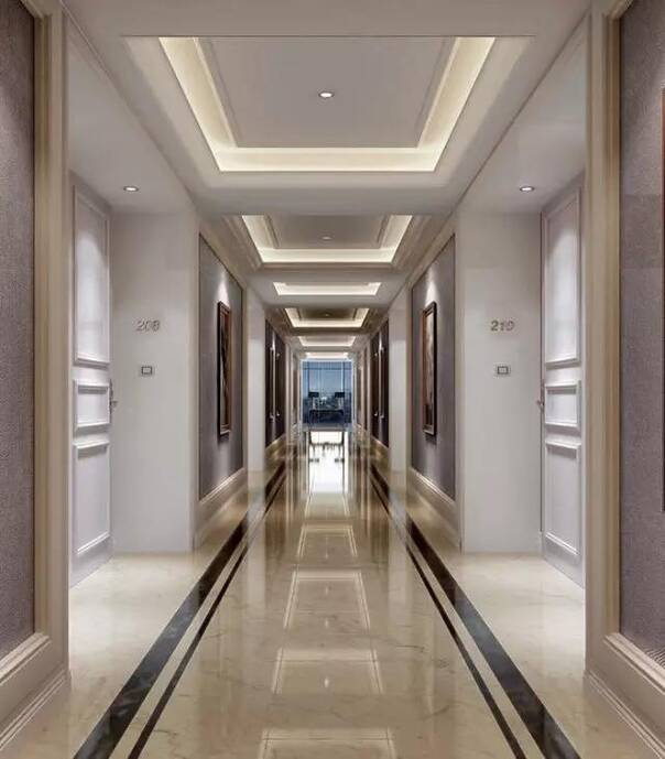 走廊地砖造型效果图,走廊地板砖铺设要注意什么