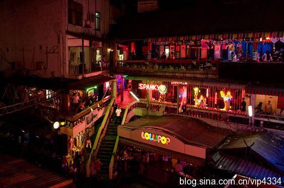 实拍泰国红灯区 揭秘泰国卖淫行业图片