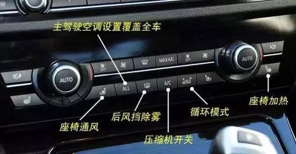 下图是科鲁兹的英文图标,根本就看不懂……  空调控制区,下图是以