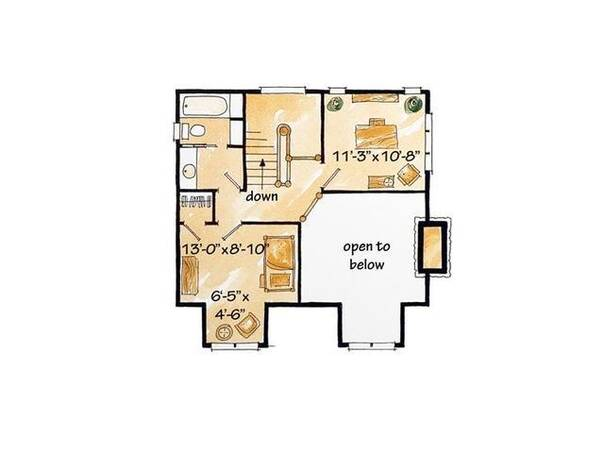 建60平方米房子设计图