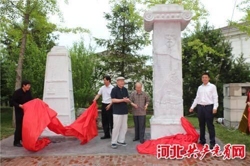 秦皇岛北戴河区文化雕塑与霞飞馆揭开面纱