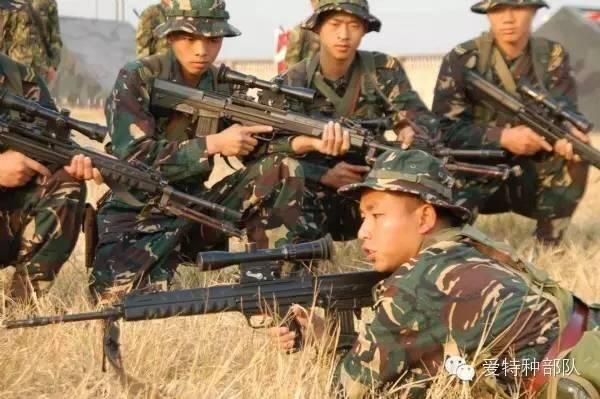 解放军特种部队的 秘密 武器