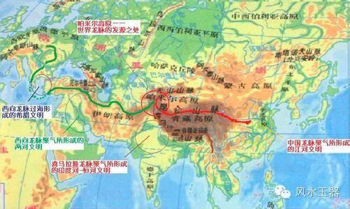 西龙两条:一条去乌拉尔山脉,形成欧亚大陆的分界线.图片