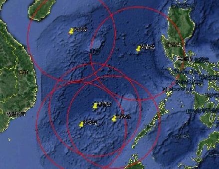 黄岩岛填海规划图 黄岩岛上中国填海情况最新消息