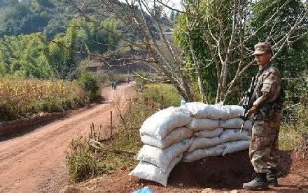 中缅边境解放军从来不缺位