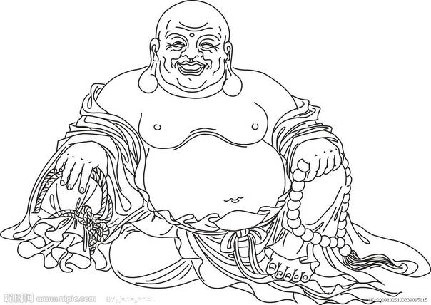 秘的血缘关系 弥勒佛是怎么变成胖子的