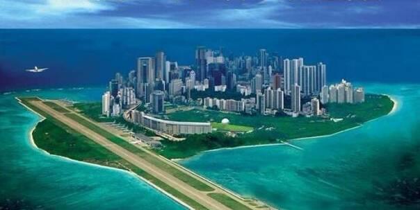 中国在南海直接霸气再现质问美国敢动我的岛礁吗?