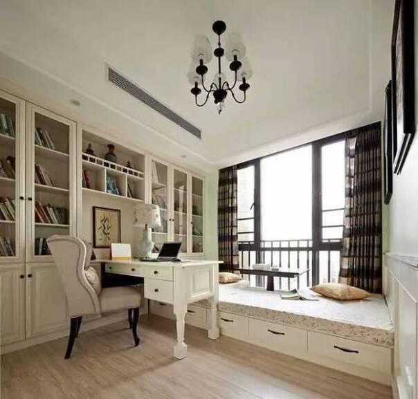 29款装修效果图奉上 阳台榻榻米小书房真是美哒哒