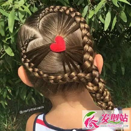 九款儿童编发发型图片 儿童编发样式参考大全