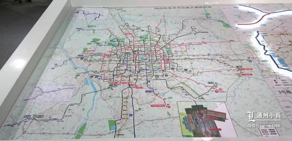 北京市轨道交通规划图(点击查看)-猛料 北京地铁2021年规划曝光