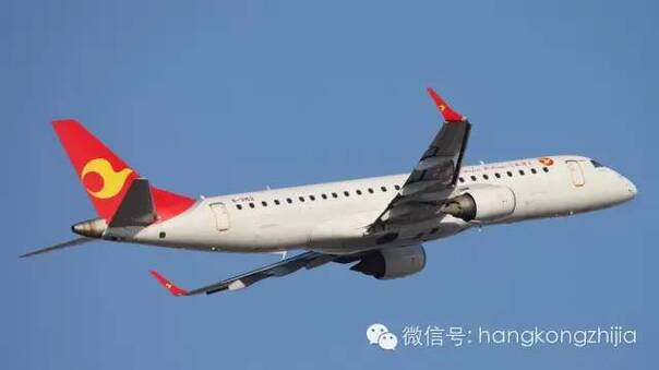 天津航空公司客机
