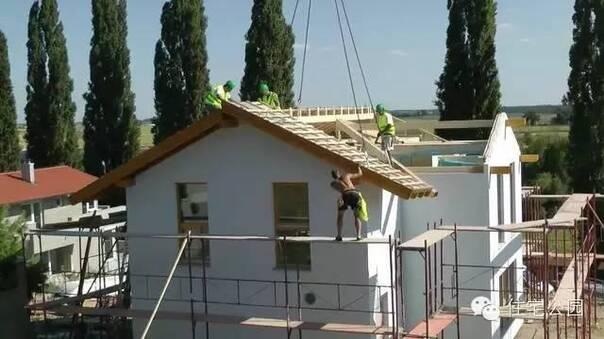 德国再次领先 装配式建筑都用于农村建房了