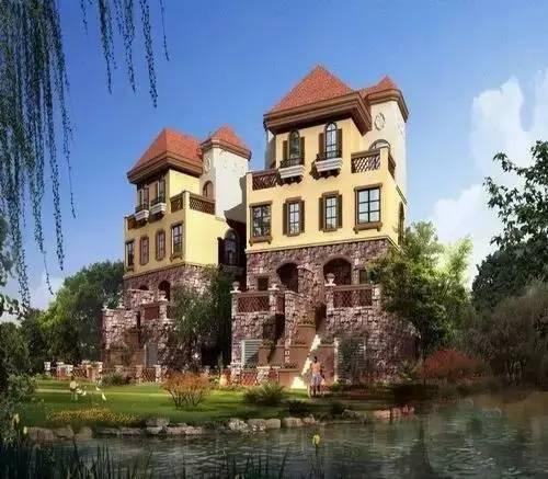 最贵三层别墅图片