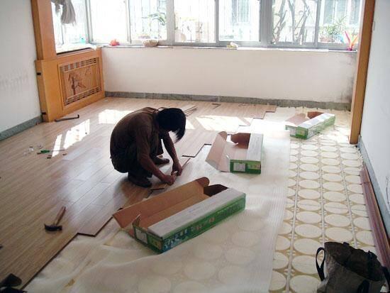巧妙铺木地板,简单又易学