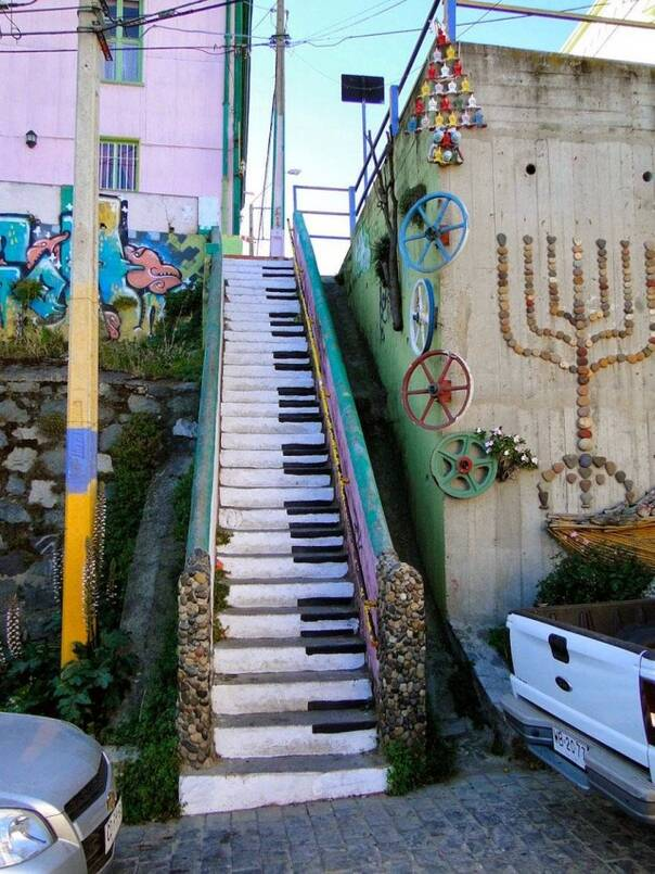 观光150729:世界上那些美丽的台阶 不要拦我我要爬上去