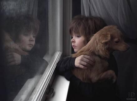 摄影师给自己孩子拍的秋的照片 真是美哭了