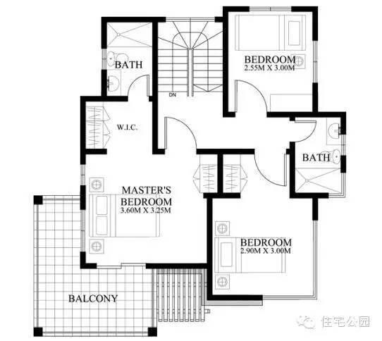 5套现代经典2层自建房设计图推荐,最小的不足10万!