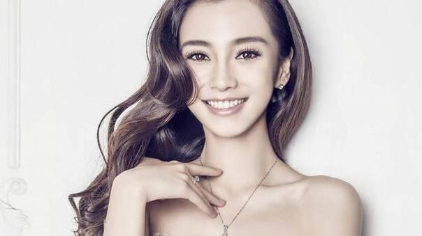 杨颖最美照片可爱