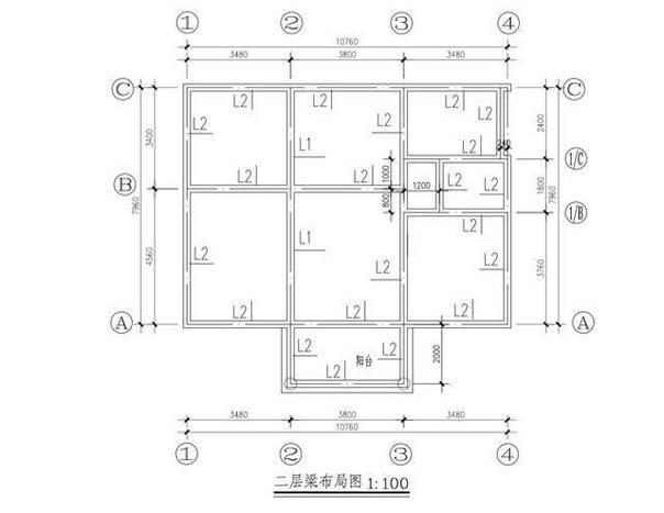 10米面宽 2层农村自建房 含建筑施工全套图纸