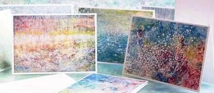 震惊150811:自闭症小女孩的画作 纯净得如梦如幻