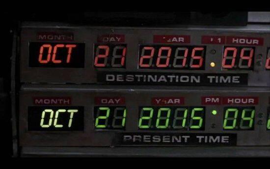 根据《回到未来2》 我们还有1天时间发
