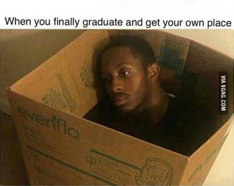 当你终于毕业有了属于自己的空间