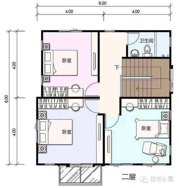 新农村自建房南方户型5套 开春起房子要参考 含平面图