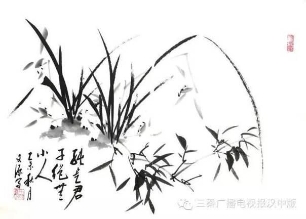 汉中籍军旅书法家梁文源书画作品欣赏-凤凰新闻图片