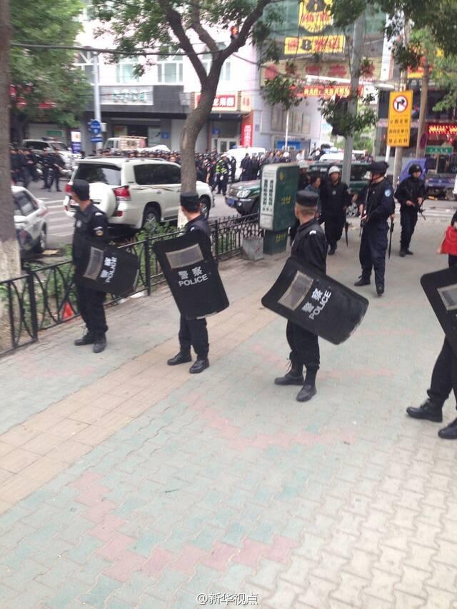 新疆当局曾表示4月30日的乌鲁木齐火车站恐怖袭击案