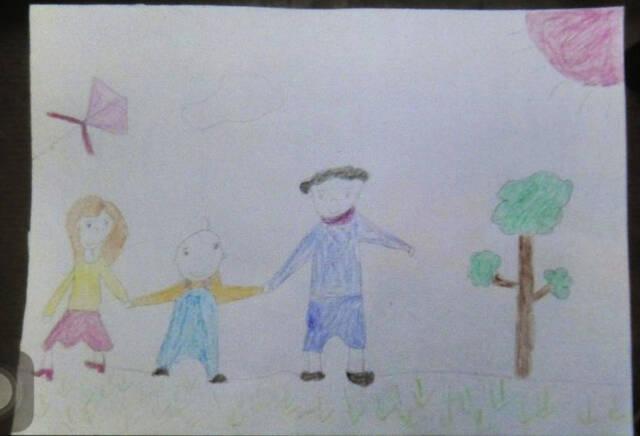 男童患病靠画画排解孤独 出走母亲被其作品唤回-凤凰