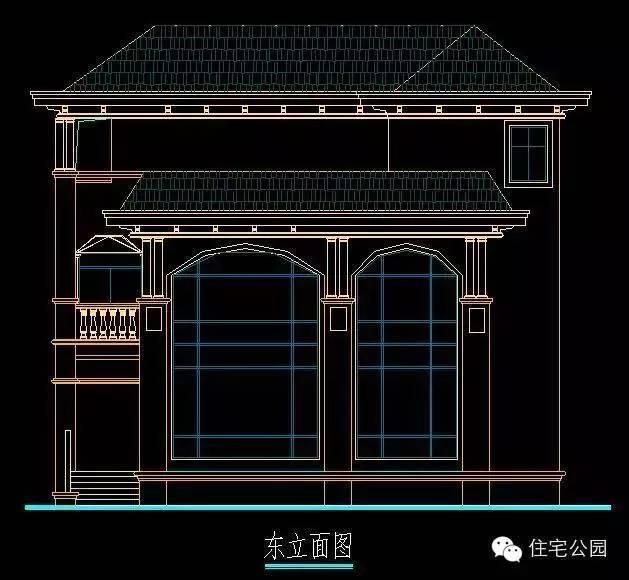 14米x12米两层房设计图