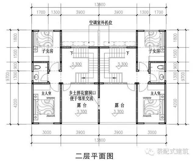 10新农村自建房图纸-户型3