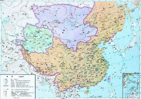 明朝的疆土面积大还是清朝的疆土面积大图片