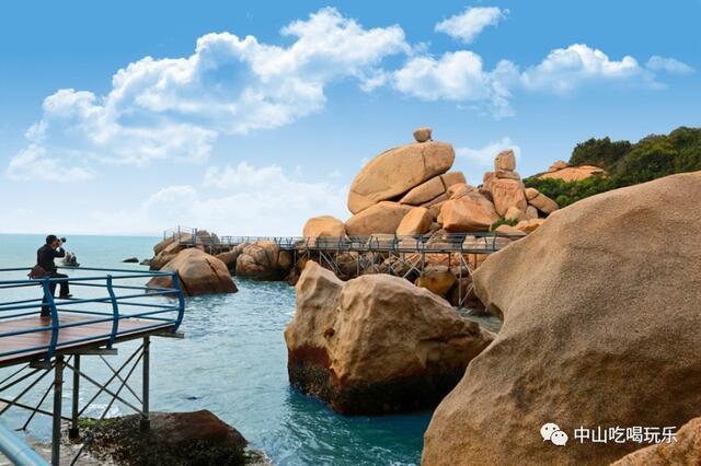 ▼  那琴半岛地质公园  那琴半岛地质海洋公园位于台山市北陡镇南部
