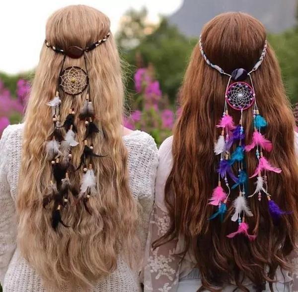 发型 夏天不编发,热爆长头发