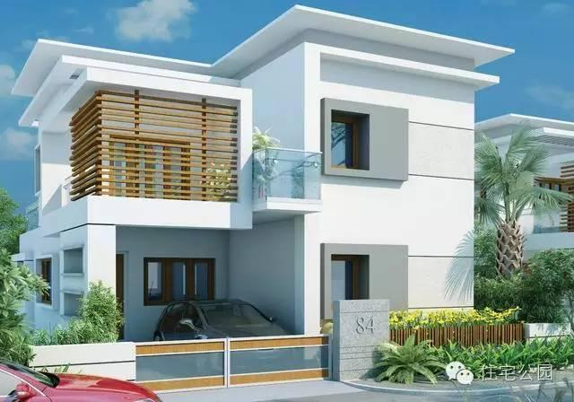 新农村自建房 8米x12米 现代风格布局超好 含平面图
