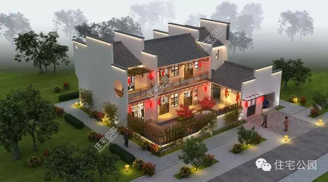 农村建房子 四合院还是徽派小院好 含平面图