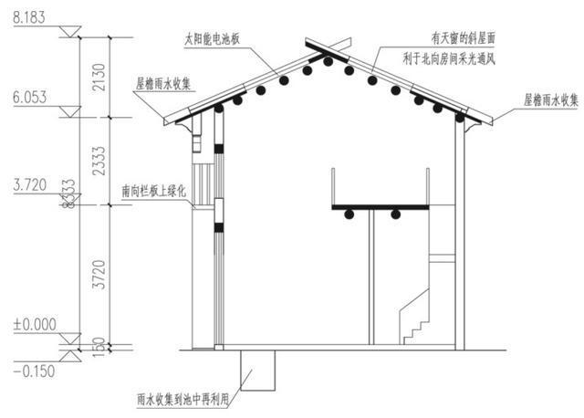 农村10x7米自建房,方正户型,适合你吗?图片