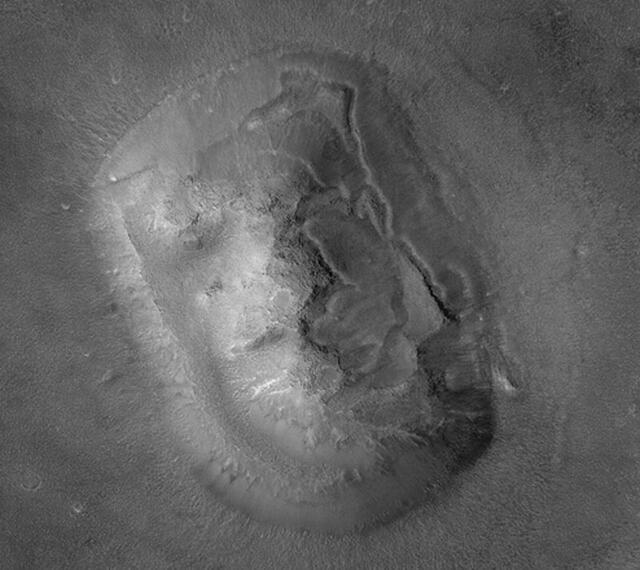 """""""金字塔,战舰"""" 火星上还发现了啥"""