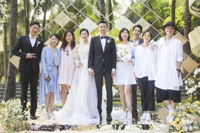 她昨天在三亚又办婚礼 老板赵薇当证婚人