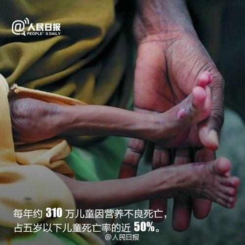 世界粮食日:你挥霍的,正是别人渴求的图片