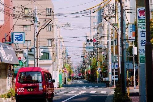 壁纸 步行街 街道 街景 商业街 495_331