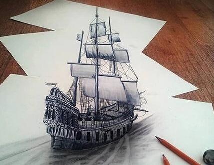 凤凰怎么画铅笔画