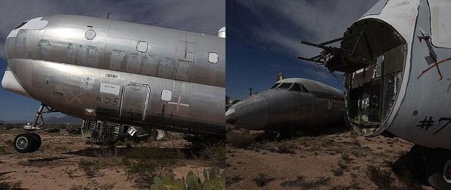 世界上最大的飞机坟墓-凤凰新闻