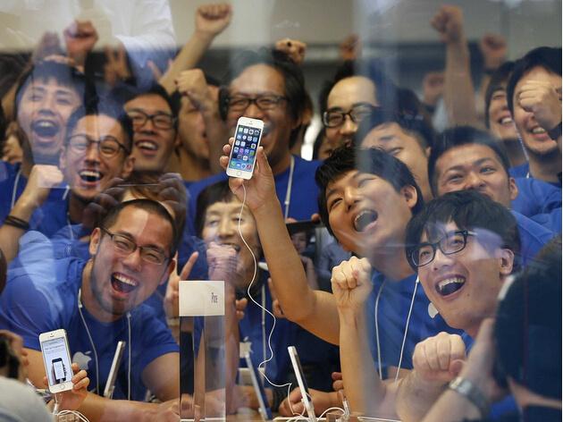 你知道苹果每位员工一年能为其贡献多少收入吗?