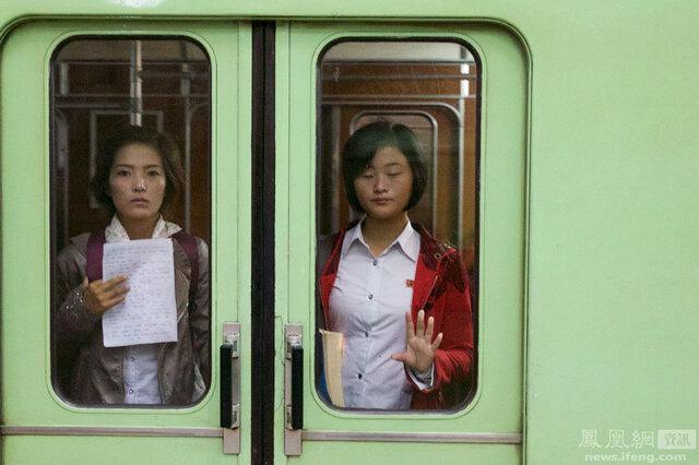 朝鲜:固定线路上的景观