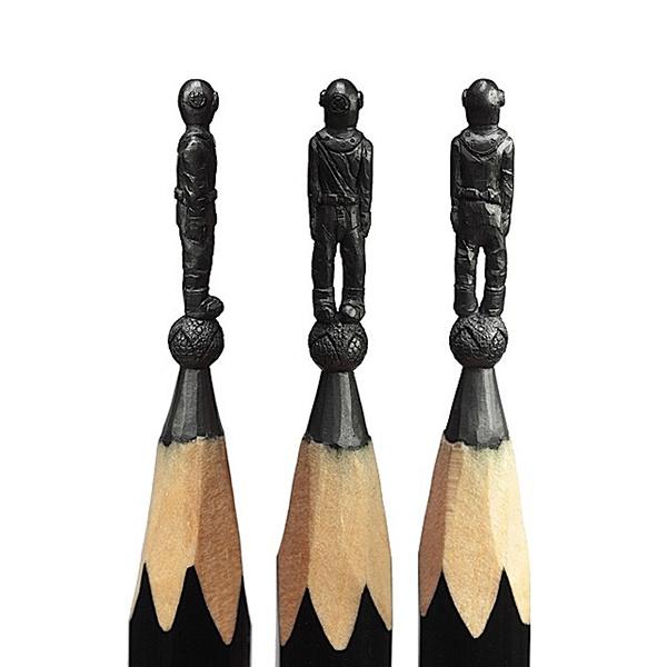 铅笔微雕,让人咋舌不已!